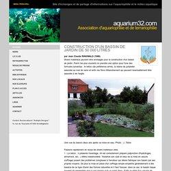 PERMACULTURE - BASSIN Les Amis de l'Aquarium 1932