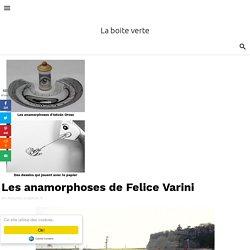Les anamorphoses de Felice Varini