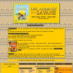 Les animaux de la savane