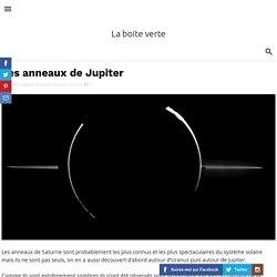Les anneaux de Jupiter