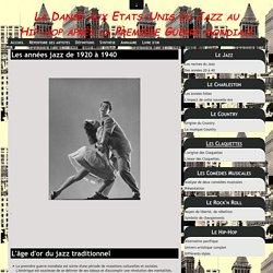 Les années jazz de 1920 à 1940