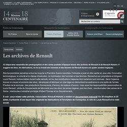 Les archives de Renault