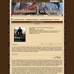 Les Archives de Gondor