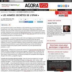 « LES ARMÉES SECRÈTES DE L'OTAN »