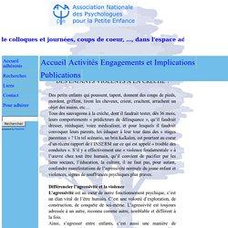 Les articles de l'A.NA.PSY.p.e.