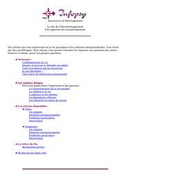 Les articles Infopsy