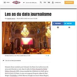 Les as du data journalisme