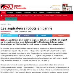 Les aspirateurs robots en panne - Aspirateurs
