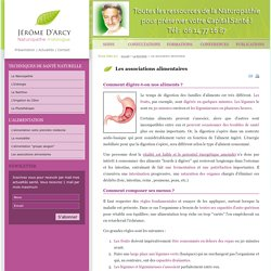 Les associations alimentaires