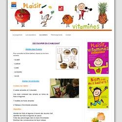 Les ateliers - Plaisir et vitamines