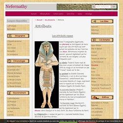 Les attributs royaux de l'egypte