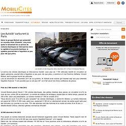 Les Autolib' carburent à Paris