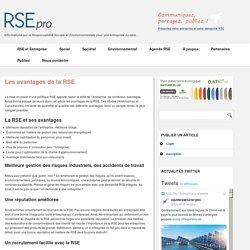 Avantages de la RSE pour Entreprise - Bénéfices, Intérêts, Avantages de la RSE