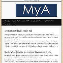 Les avantages d'avoir un site web - My Agence