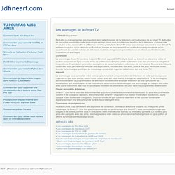 Les avantages de la Smart TV - Jdfineart.com