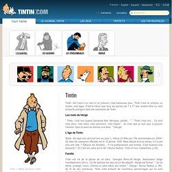 Les Aventures de Tintin - Tintin