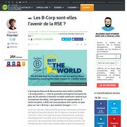 Les B-Corp sont-elles l'avenir de la RSE ?