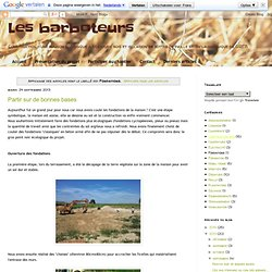 Les barboteurs: Fondations