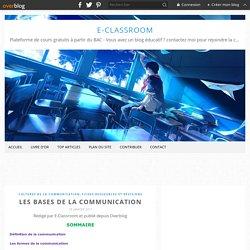 Les bases de la communication - E-Classroom