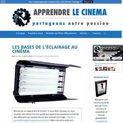 Les bases de l'éclairage au cinéma