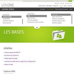 Les Bases du KNX - Loxone