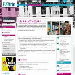 Les bibliothèques - Ville de Pantin 93