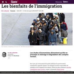 Les bienfaits de l'immigration