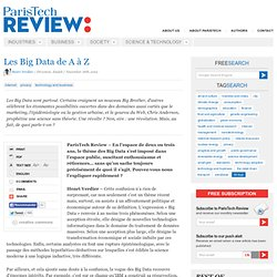 Les Big Data dans tous leurs états
