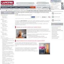 Blocs-portes isolants Lapeyre pour vos portes intérieures, de cave ou de service.