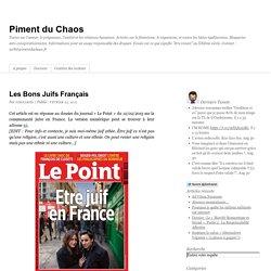 Les Bons Juifs Français