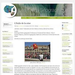 L'Italie de la crise