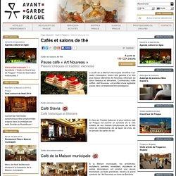 Les cafés et salons de thé à Prague