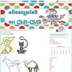 Les calligrammes - Des documents pédagogiques à partager pour le cycle 3