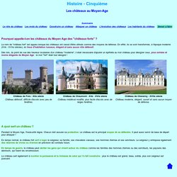 Les chateaux forts