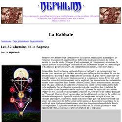 Les 32 Chemins de la Sagesse - Les 10 Sephiroth