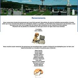 Les cimetières du Quebec