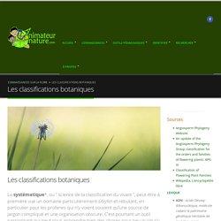 Les classifications botaniques