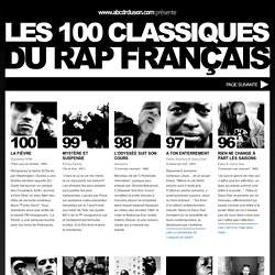 Les 100 Classiques du Rap Français