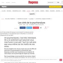 Les clefs de la psychanalyse