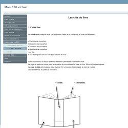 L'objet livre (nom des parties du livre, autres mots clés)