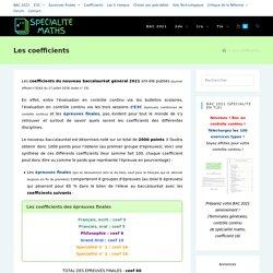 Les coefficients