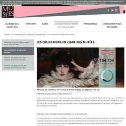 Les collections en ligne des musées