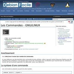 Les Commandes - GNU/LINUX / Wiki