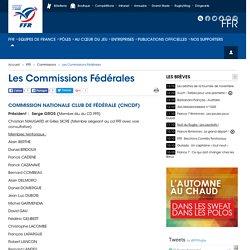 Les Commissions Fédérales - FFR