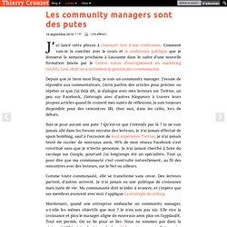 Les community managers sont des putes