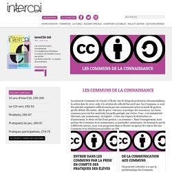 Les communs de la connaissance – Inter CDI