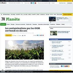 Les contaminations par les OGM ont bondi en dix ans