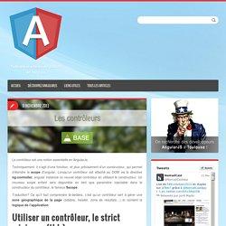 Les contrôleurs - Angular-js.fr