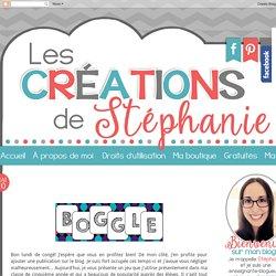 Les créations de Stéphanie