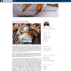 Les croissants de Julia Child